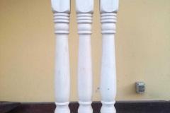 Säulen für Treppe